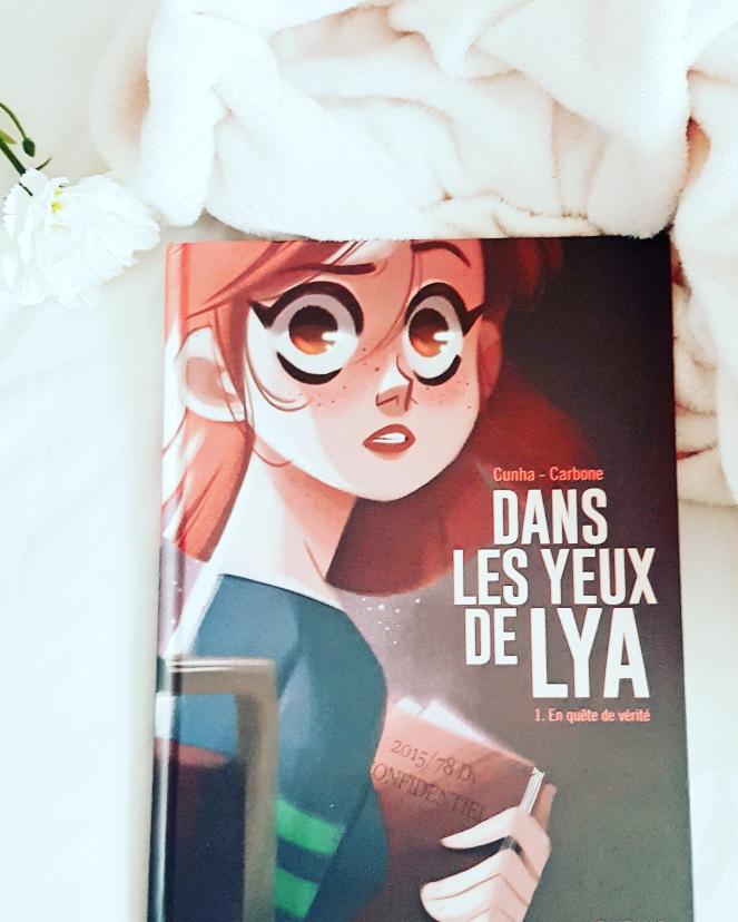 Dans les yeux de Lya BD Editions Dupuis